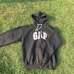 Moletom GAP original preto tamanho M e G