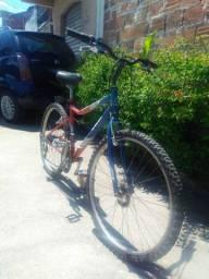 Bicicleta MTB Caloi Terra Aro 26 com 21v e Freios V-brake