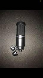 Microfone At2020 Audio Technica NOVO
