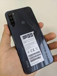 Smartphone Xiaomi Redmi Note 8T - 64GB Rom / 4GB Ram + Capinha + Carregador Turbo