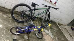 Bicicletas 1 Caloi Infantil outra Mormaii aro 29