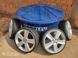 Rodas aro 20 com pneus novos (Aceito Troca)