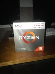 Ryzen 5 3400g com cooler box
