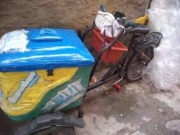 Triciclo para vender picolé