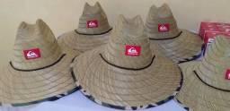 Chapéu de palha de arroz surf