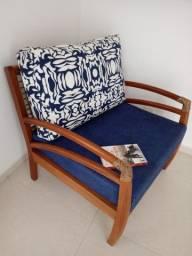 Poltrona sv - com aquablock azul