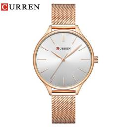 Relógio Curren Feminino com pulseira fashion