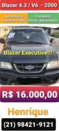 Blazer 4.3 V6 Executive Automática ano 2000