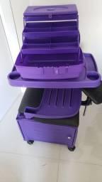 Cadeira para manicure e pedicure com UV lâmpada