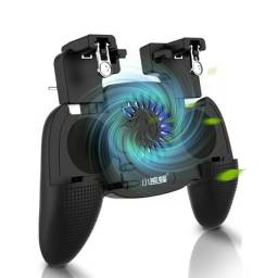 Gamepad Com Cooler P/ Jogos E Power Bank 4000mah 3 In 1