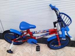 Bicicleta infantil aro 16 # capitão