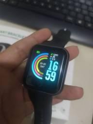 QUEIMA DE ESTOQUE - VENDA RÁPIDA Smartwatch D20