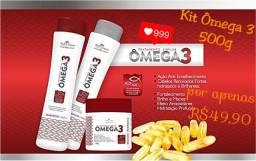 Kit 3 produtos para cabelos