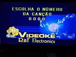 Vendo videoke raf modelo 2500s super novo com 640m