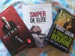 3 livros de ação
