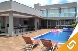 Belo sobrado c/3 suítes, piscina aquecida/elétrica e ofurô, em Caldas Novas. Cód. 1017