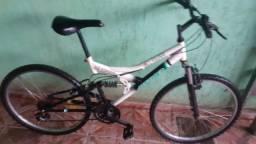 Bicicleta aro 26 com suspensão e molas 98564.9666