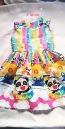 Vestido infantil 4 anos