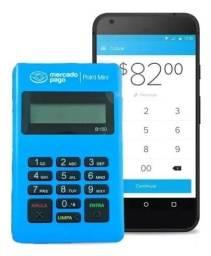Maquininha point Bluetooth 100 reais 10 maquininha