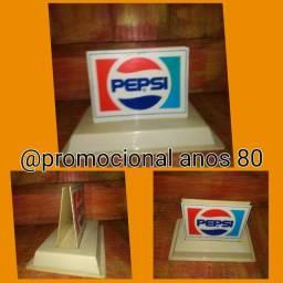 Antigo porta guardanapo Pepsi promocional anos 80