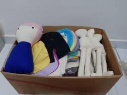 Doação - peças para produção de bonecas