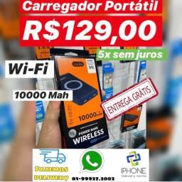 Carregador Portátil Wi-Fi (Power bank) (Entrega Grátis 5x sem juros )