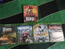 V/T jogos de Xbox one