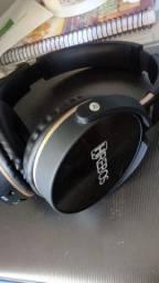 Fone De Ouvido Bluetooth E Cartão De Memória Hrebos