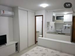 Apartamento mobiliado em Boa Viagem com 1 quarto,25m2 e área de lazer