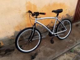 Vendo ou troco passo cartão até 12x bike caloi toda de alumínio