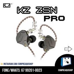 Kz ZSN Pró - Fone Profissional