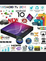 Smart  Tv Box H10 Max Ram 4g  Emmc. 64gbin 4k