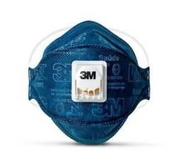 Respirador Descartável 3M Aura 9322+BR PFf-2(S), cor Azul, Caixa com 10 mascaras