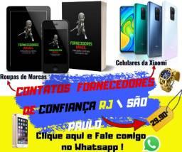 Lista de Contatos de Fornecedores Brasil Rio / São paulo