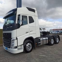 Volvo FH 460, 6x4, Branco, 2021. Zero km! Rodas de alumínio e defletor. R4E77