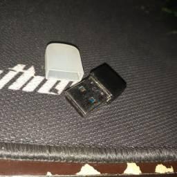Adaptador Rede Sem Fio Receptor Wireless Usb 950mbps Nano