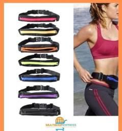 Cinto Pochete Ultra Fina Slim Fitness para Celular Caminhada e Corrida