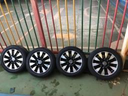 Rodas Civic LXL com Pneus bons