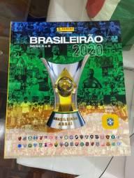 Álbum Figurinhas Brasileirão 2020 Capa  Dura