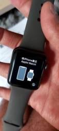 Apple Watch Série 3 Cinza 38mm + 2pulseiras originais e na caixa