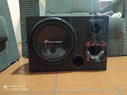 Trio Pioneer forte+Módulo Sd400+Fiação