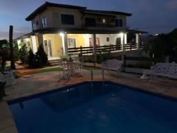 Casa 4 suítes, 2 lotes, piscina, alameda fechada em vilas!!