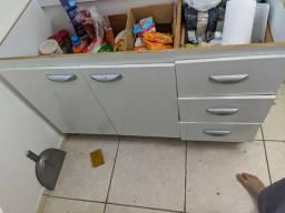 Armário de cozinha semi-novo aberto em cima (vamos baixo para vender logo)