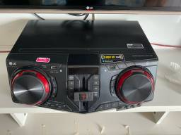 Mini System LG XBoom CJ87 -semi novo