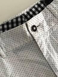 calça social de poá