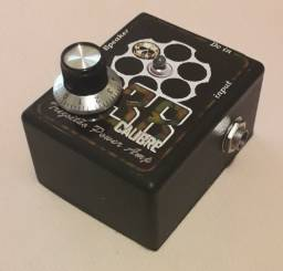 Pedal Power Amp mini potência para guitarra