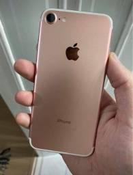 IPhone 7 32gb rose bateria 75%