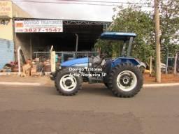 Trator New Holland TL75E 4X4 Ano 2011,com redutor e reversor !!
