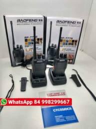 Rádio Comunicador Walk Talk Baofeng 777s 4km