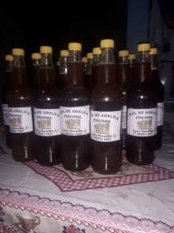 Mel orgânicos de abelha italiana